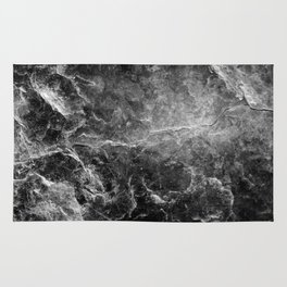 Enigmatic Black Marble #1 #decor #art #society6 Rug