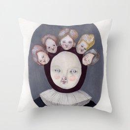 Dutch Disease Throw Pillow