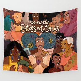 Blessed Ones Wall Tapestry