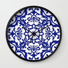 Portuguese tile Wall Clock