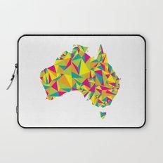 Abstract Australia Bright Earth Laptop Sleeve