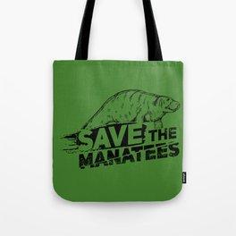 Save The Manatees II - Nature & Wildlife Gift Tote Bag