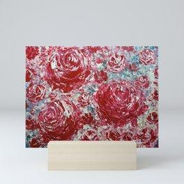 SMILE TO THE ROSES Mini Art Print