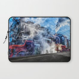 Steam Locomotive (Train) Laptop Sleeve