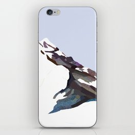 Mountains In The Cold Design iPhone Skin