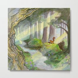 Forest of Ithilien Metal Print