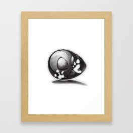 Alien Baby Has Questions Framed Art Print