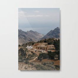 Spain mountain village Tenerife. Travel photo print, poster, landscape photography. Metal Print