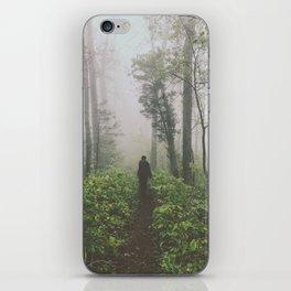 Through The Mist • Appalachian Trail iPhone Skin