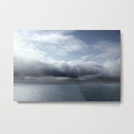 Storm over Atlantic Ocean Metal Print