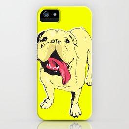 Greta the Bulldog iPhone Case