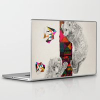 kris tate Laptop & iPad Skins featuring The Innocent Wilderness by Peter Striffolino and Kris Tate by Peter Striffolino