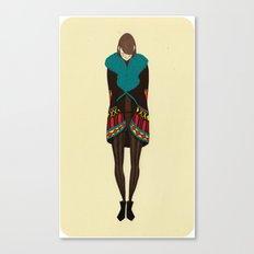 Vanitas Colorful Jacket Canvas Print