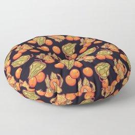 Physalis pattern Floor Pillow