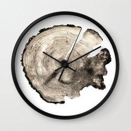 cross-section II Wall Clock