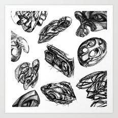 Rune Catchers Art Print