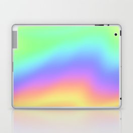 Holographic Foil Colorful Gradient Pattern Laptop & iPad Skin