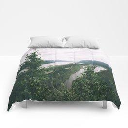 Columbia River Gorge VII Comforters
