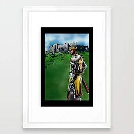 LeBron James, Return of the King Framed Art Print