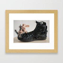 Diode Worship Bunny  Framed Art Print