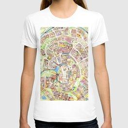 Cityplan T-shirt