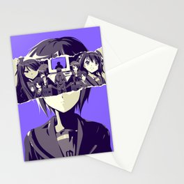 Doubt - Disappearance of Haruhi Suzumiya poster Stationery Cards