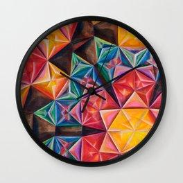 Shape Emanation Wall Clock