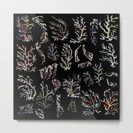 paper corals Metal Print