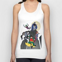 teen titans Tank Tops featuring Teen Titans by Fuacka