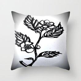 Tea Tree Throw Pillow
