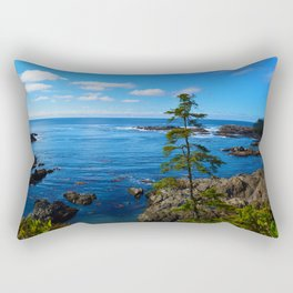 Wild Pacific Trail, Ucluelet BC Rectangular Pillow
