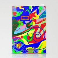 graffiti Stationery Cards featuring Graffiti by DesignsByMarly
