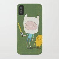 jake iPhone & iPod Cases featuring Finn & Jake by Rod Perich