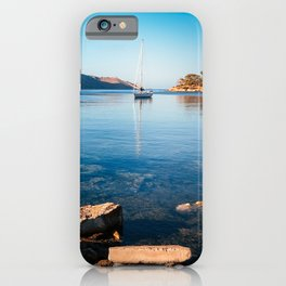 Silent Waters - Kalymnos iPhone Case