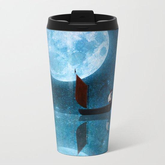 The Moon and Me Metal Travel Mug