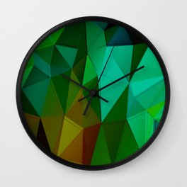 Vertices 5 Wall Clock