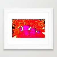 nemo Framed Art Prints featuring nemo. by rachel kathleen