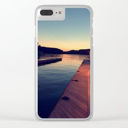 State Dock Clear iPhone Case
