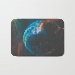 Bubble Nebula Space Bath Mat