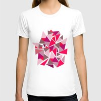geo T-shirts featuring Geo by Amy Harlow