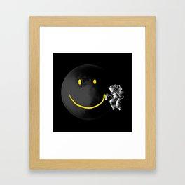 Smile Space Framed Art Print