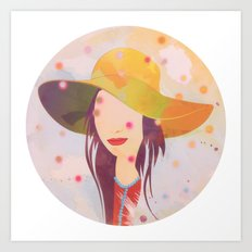 Picture Disc Art Print