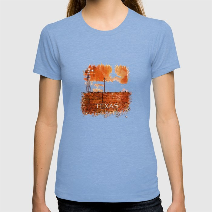 West Texas Windmill T-shirt