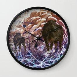 Roadside Family Wall Clock