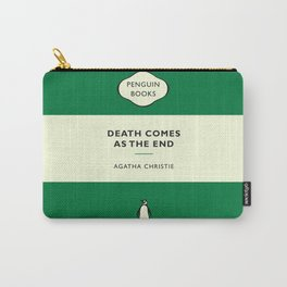 Death Comes As The End Carry-All Pouch