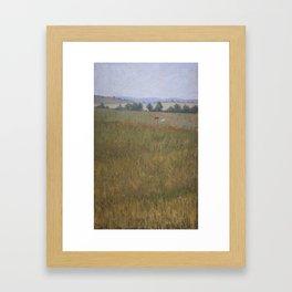 Duas Vacas Framed Art Print