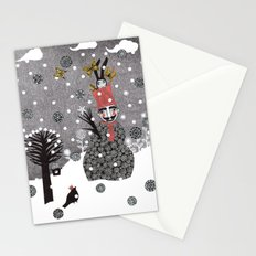 Snow Magician Stationery Cards