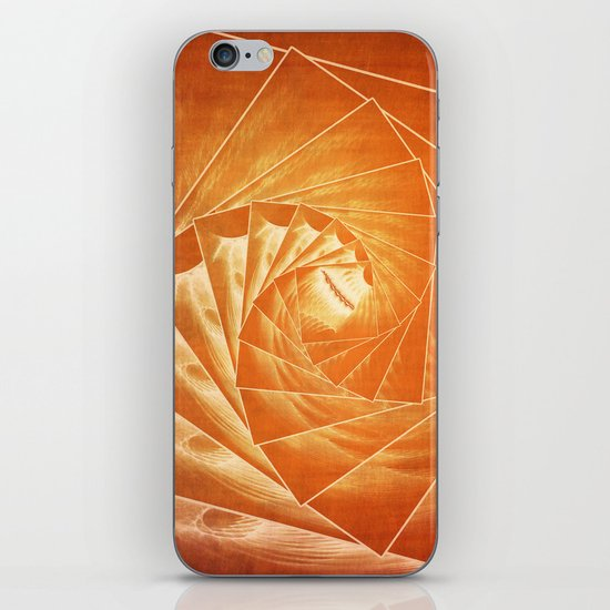 The Burning Eye Sees Spiral iPhone & iPod Skin