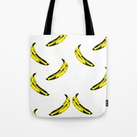 banana Tote Bags featuring Banana! by MrWhite
