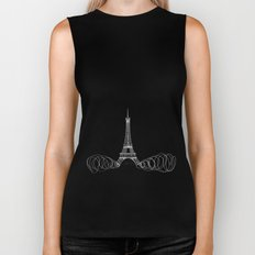 Paris by Friztin Biker Tank